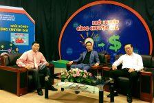 """Tham gia chương trình truyền hình trực tiếp """"Khởi nghiệp cùng chuyên gia"""" tại Quê hương Quảng Ngãi"""