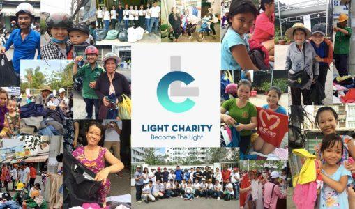 Light Charity – thắp sáng những nụ cười