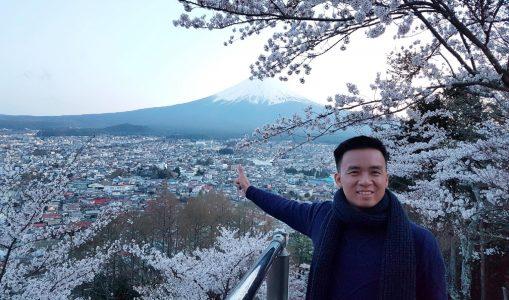 Hình dáng hoàn hảo của núi Phú Sỹ