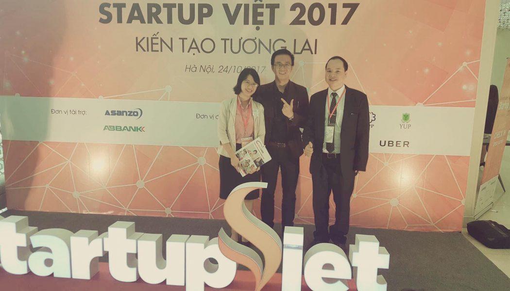 Lễ vinh danh Startup Việt 2017 do Vnexpress tổ chức