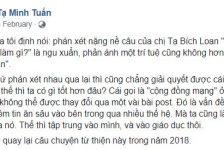 """Từ câu nói của chị Tạ Bích Loan: """"Làm từ thiện để làm gì?"""""""