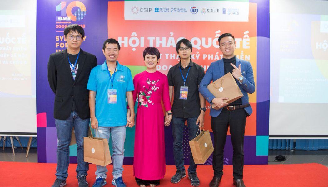 Đại hội Khởi nghiệp Toàn quốc 2018 còn dành cho những nhà hoạt động xã hội