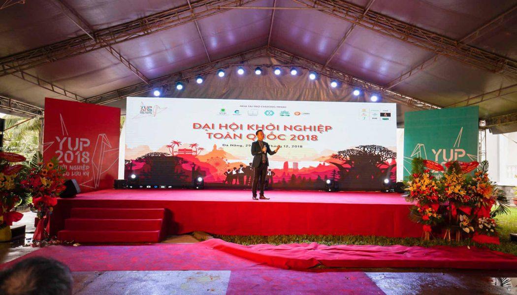 """Tuyên bố khai mạc & Trao cờ đăng cai Đại hội Yuppies Toàn quốc cho """"chủ nhà"""" năm nay: Đà Nẵng"""