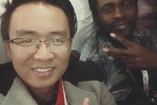 Martial Panucci – một thành viên tham dự One Young World đến từ Congo