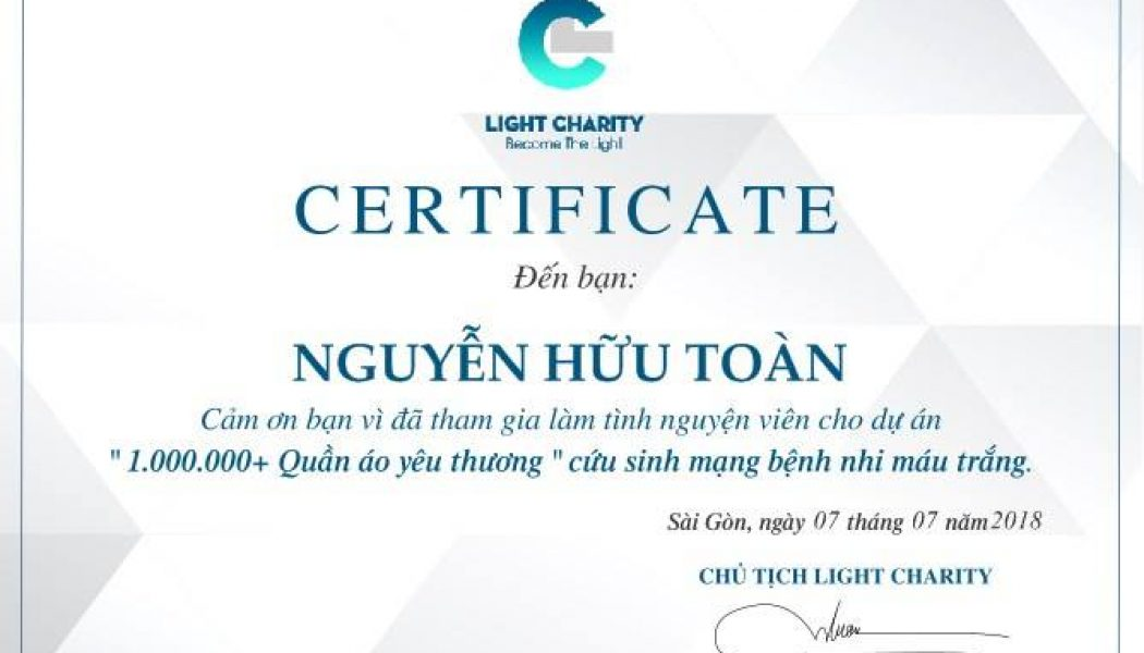 Light up Vietnam!