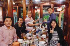 Huấn luyện cho core team của Tổ chức Bóng đá Cộng đồng Việt Nam