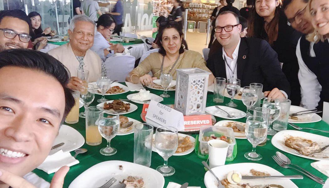 Ăn trưa cùng Muhammad Yunus – Doanh nhân xã hội, Nobel Hoà bình thế giới 2006