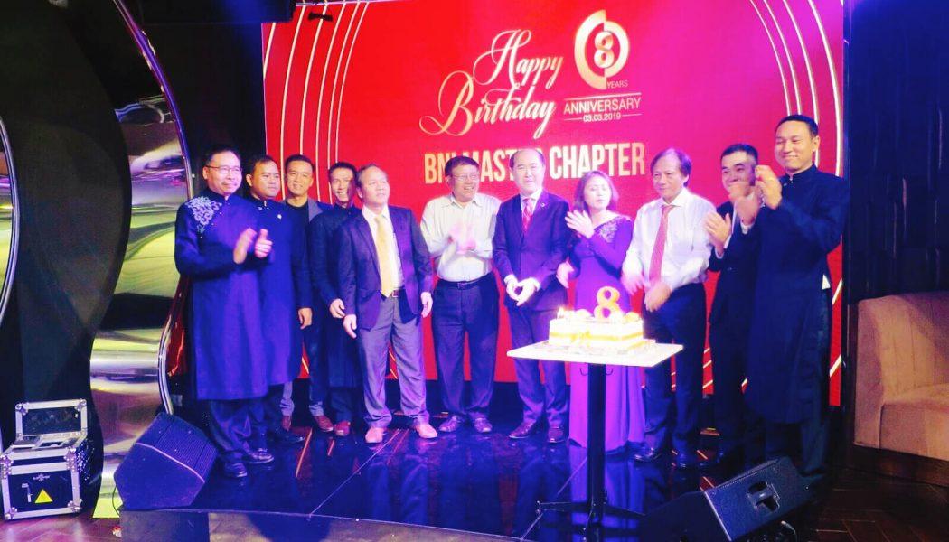 Về dự sinh nhật 8 năm tuổi của BNI Master Chapter
